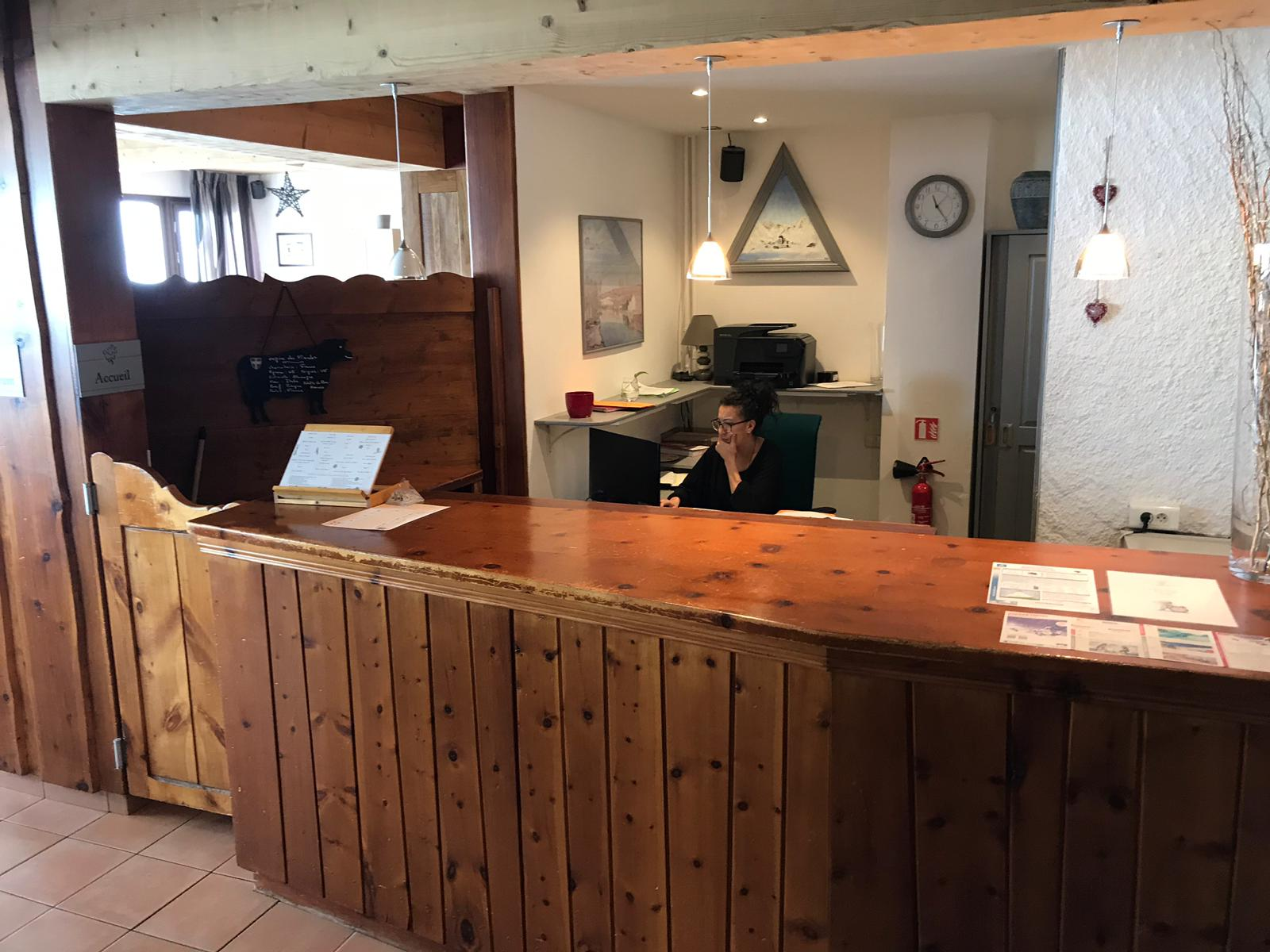 Reception Hôtel Terril Blanc