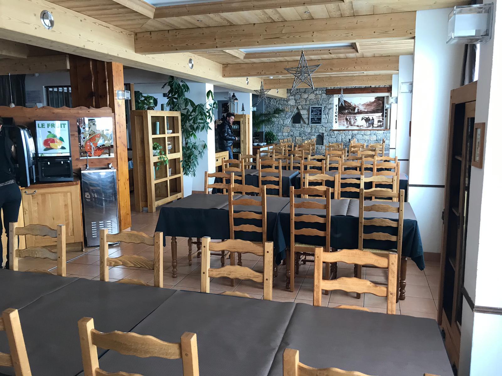 Restaurant Hôtel Terril Blanc Tignes